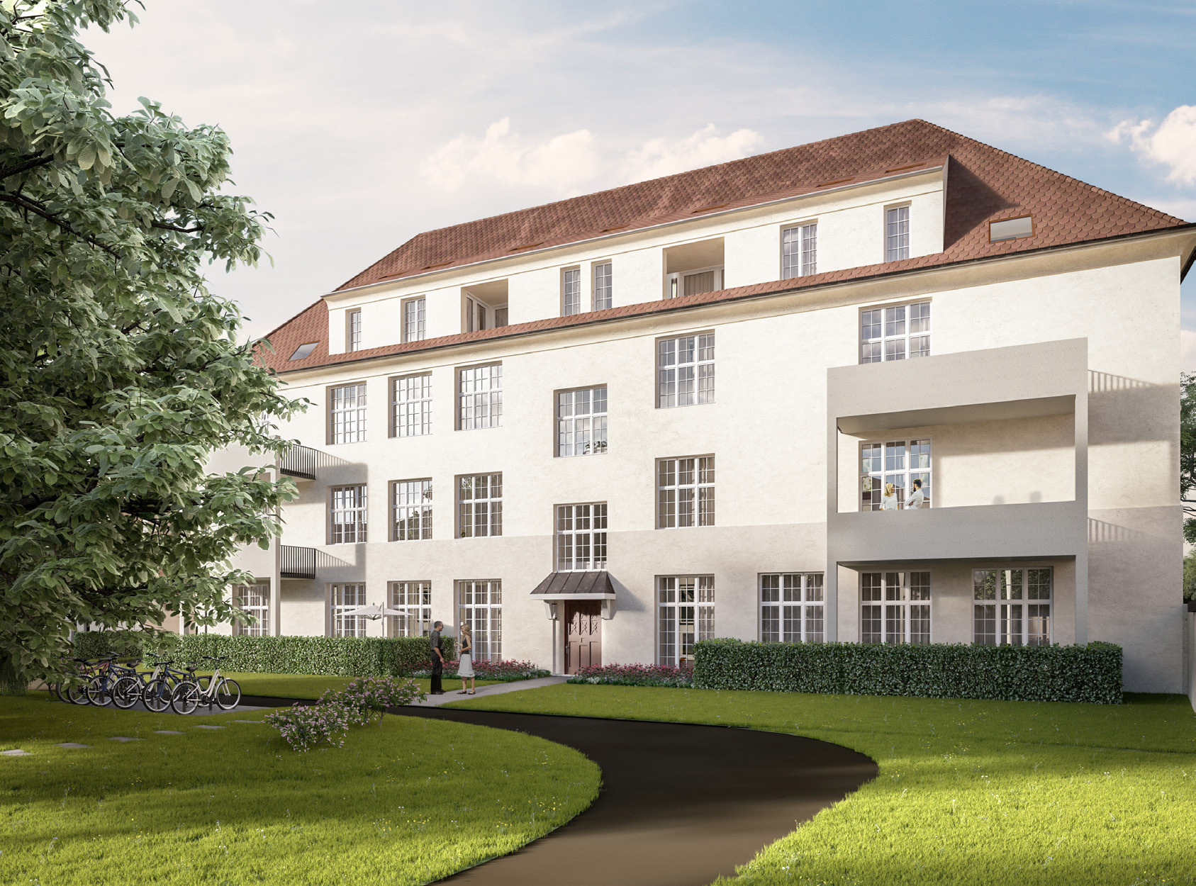 Stadt und Natur. Tradition und Moderne. Wohnkomfort und Wertsteigerung. Haus und Eigentum., Haus CS82